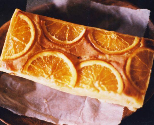 Brownie de laranja