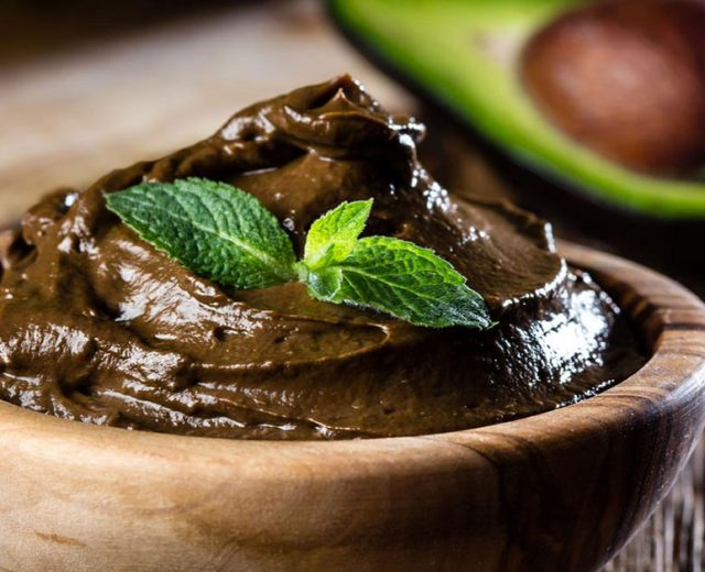 Mousse de Chocolate Vegano