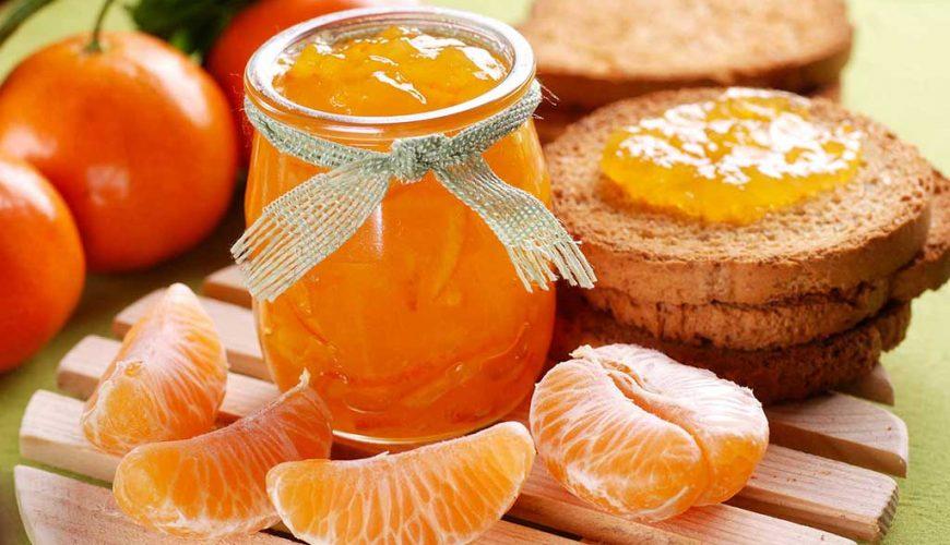 Geleia de tangerina murcote