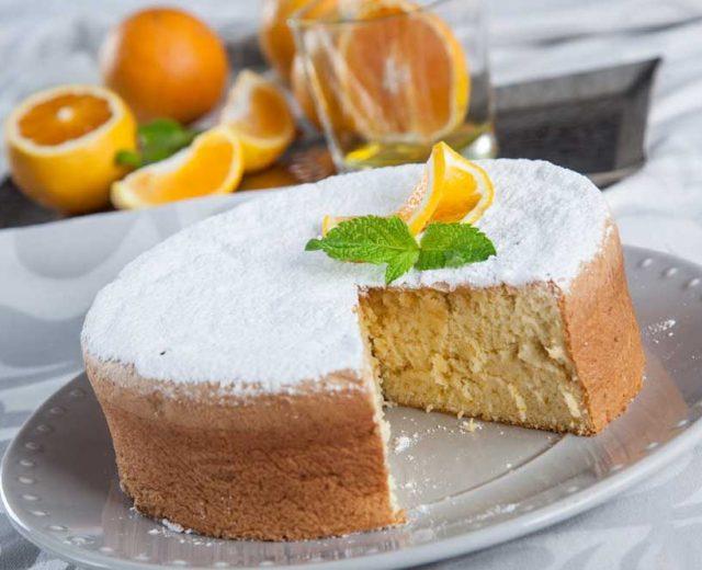Pão de ló de laranja