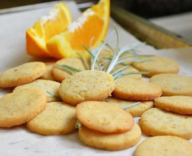 Cookies de laranja