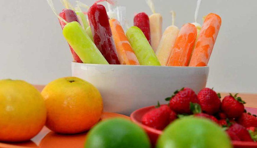 Geladinho de Frutas
