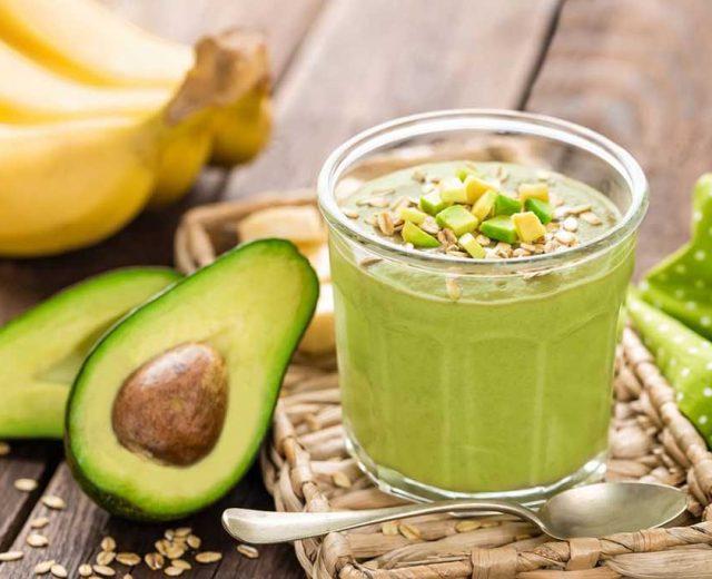 Vitamina de Abacate garante energia e disposição