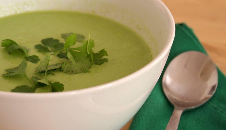 Sopa Cremosa de Abacate