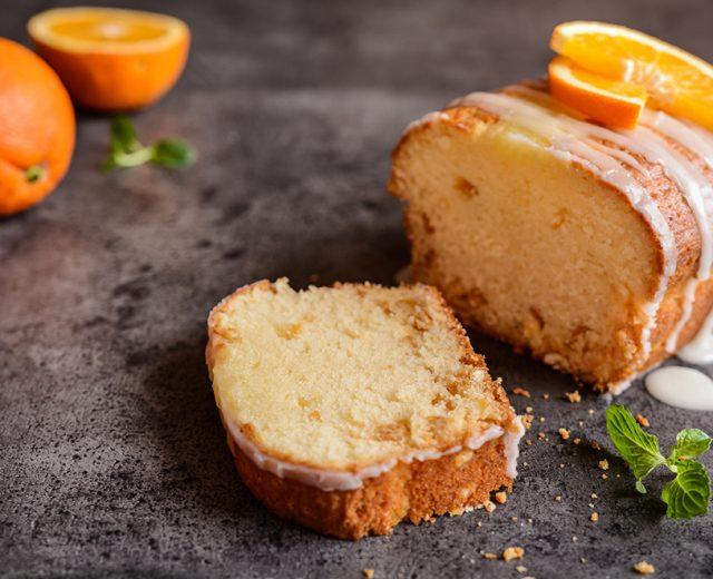 Pão de Ló de Laranja Molhadinho