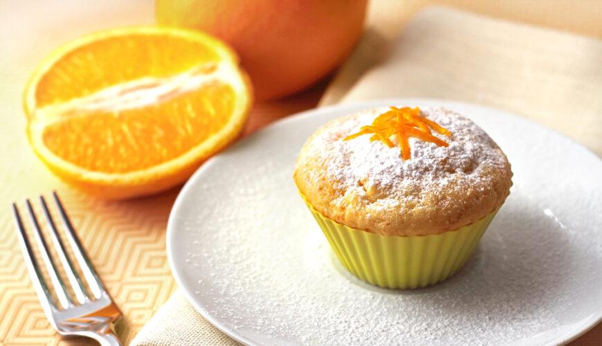 Cupcake Delicioso de Laranja