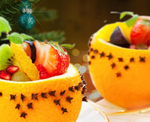 Salada de Frutas Natalina