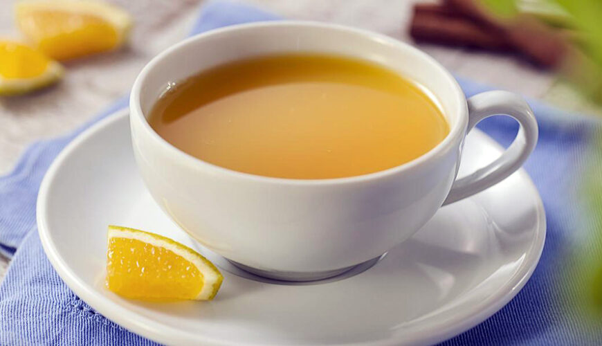 Chá de Laranja, Gengibre e Canela